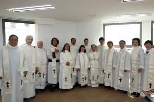 125th Anniversary Eucharist - EAM Clergy